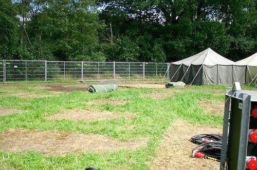 Campzone 2007 - leeg veld
