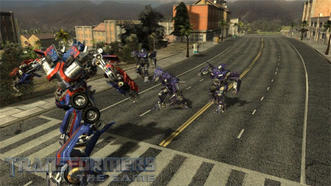 Transformers: The Game - Optimus Prime