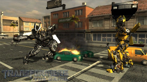 Transformers: The Game - auto