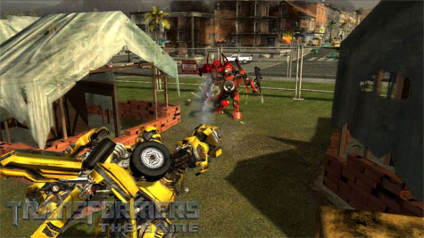 Transformers: The Game - gevecht