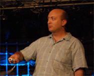 Chad Hower demonstreert XNA met Wii-mote