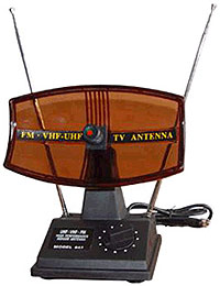 Oude tv-antenne
