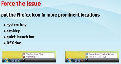 Voorstel voor betere positionering Firefox-icoon