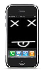iPhone deadzone