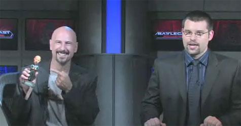 Joe 'Kane' Kucan in de uitzending van Battlecast Primetime