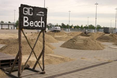 Games Convention - Opbouw beach