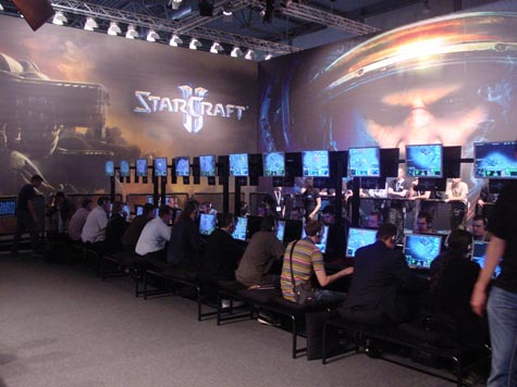 Games Convention - StarCraft 2 speelbaar
