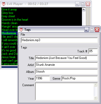 Evil Player screenshot