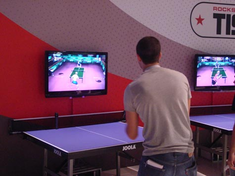 Game Convention - Table Tennis Wii