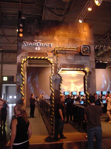 Games Convention - StarCraft 2 stand