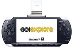 Go!Explore voor PSP