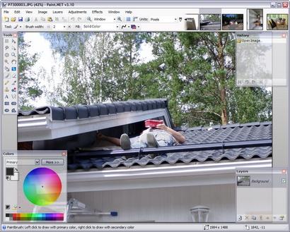 Paint.NET 3.10 screenshot (410 pix)