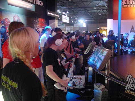 Games Convention - Guitar Hero 3