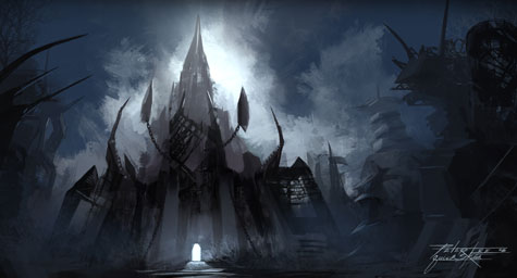 Wrath of the Lich King - Nerubian Entrance