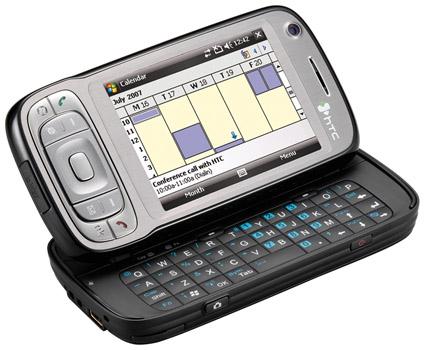HTC Tytn II - opengeklapt