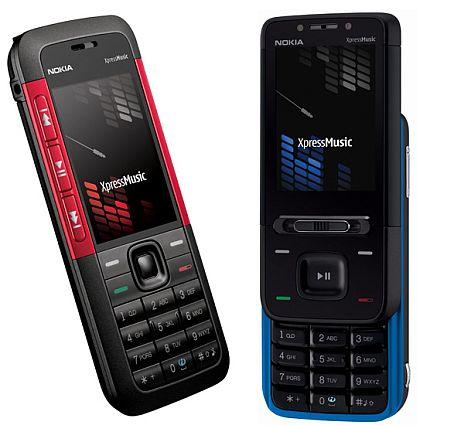 Nokia 5310 5610 XpressMusic.