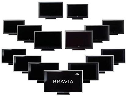 Bravia-televisies