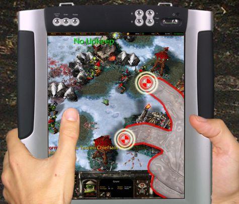 Microsoft Mitsubishi LucidTouch Warcraft
