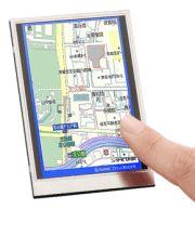 Sharp lcd touchscreen scanner