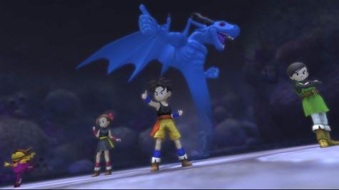 Blue Dragon - Gevecht gewonnen
