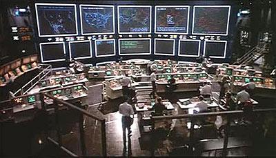 Sc�ne uit de film Wargames