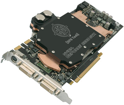 nVida Geforce 8800GTX