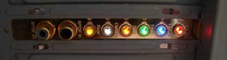 Asus Xonar D2-geluidskaart achterkant