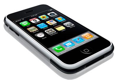 Apple iPhone liggend