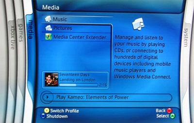 Xbox 360 Media Extender