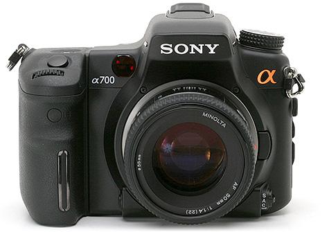 Sony Alpha DSLR-A700 spiegelreflex