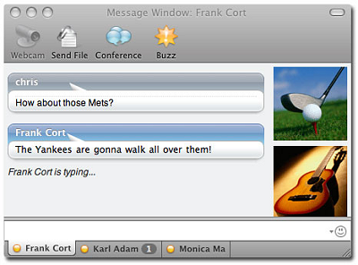 Yahoo Messenger for Mac beta 2