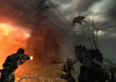 Enemy Territory: Quake Wars - stroomkabels