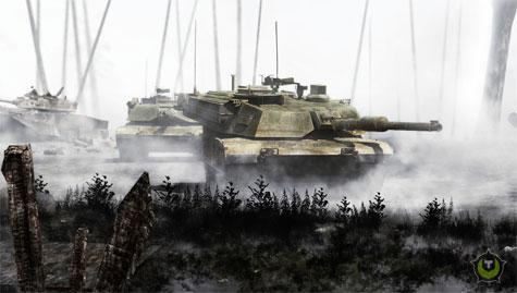 Operation Flashpoint 2 - Tank sfeer render