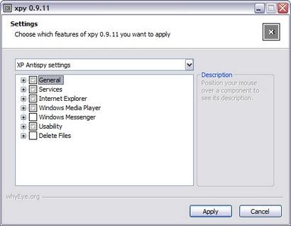 xpy 0.9.11 screenshot (410 pix)