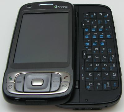 HTC Kaiser uitgeklapt