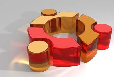 Ubuntu logo 3D