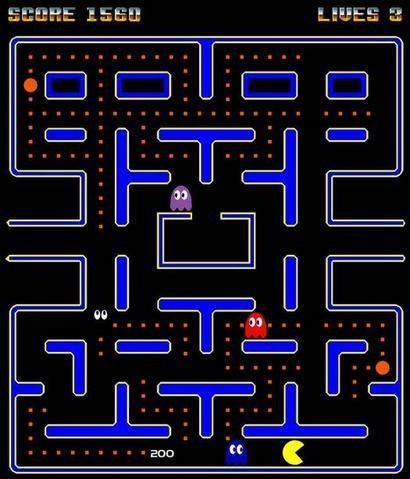 Pacman screenshot (410 pix)