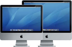 "Apple iMac - 20"" en 24"" scherm"