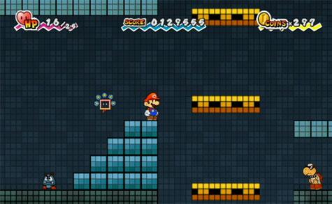 Super Paper Mario - 2d weergave