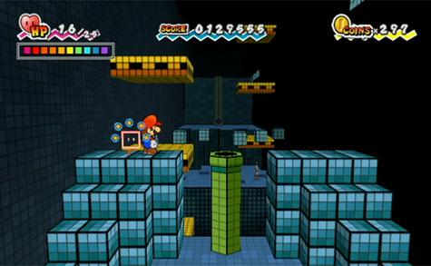 Super Paper Mario - 3d weergave