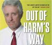 Jack Thompson - boekomslag 'Out Of Harm's Way' (cropped)