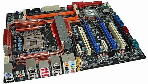 ASUS P5E3 Deluxe met Intel X38-chipset