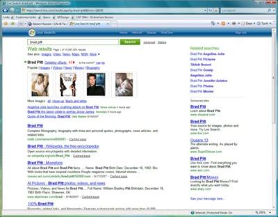 Live Search 2.0 - Mensenzoeker