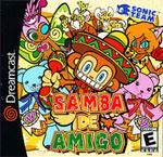 Samba de Amigo - Dreamcast boxart