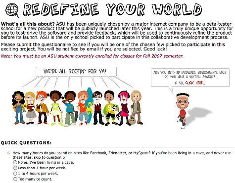 ASU vragenlijst My World