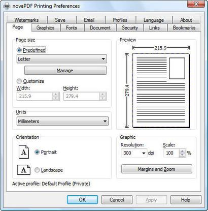 novaPDF screenshot (410 pix)