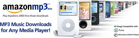 Amazon MP3 beta
