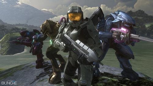 De cast van Halo 3