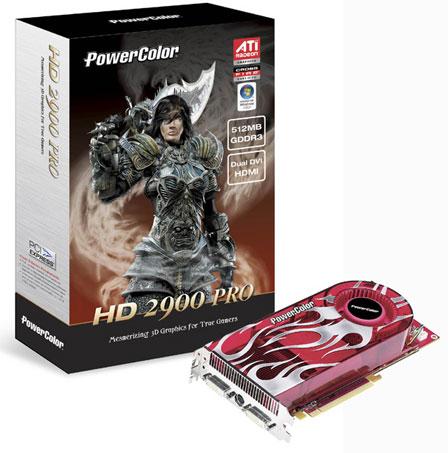 Powercolor Radeon HD 2900 Pro 512MB
