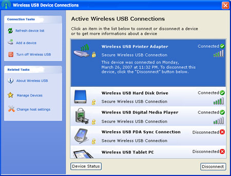 Wireless USB screenshot (kleiner)